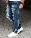 Blue Ripped Jeans L32 Jerone
