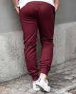 Wine Red Collegepants Jerone